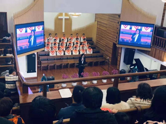 On Dec.25, 2019, Hangzhou Chengbei Church preached a sermon on the theme of
