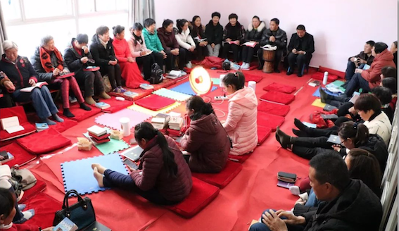 Kunming Shijicheng Church began a fast and held a prayer meeting on Dec. 31, 2019.
