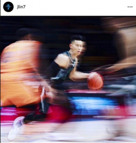 Jeremy Lin posted a picture on Instagram.