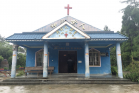 Bangbie Church for Dai minorties in Yingjiang County, Dehong Dai and Jingpo Autonomous Prefecture, China's southeastern Yunnan Province