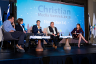 One of the third Christian Media Summit's panels on