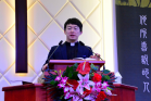 Rev. Wu Bing, senior pastor of Dalian Xishan Gospel Church, preached a sermon in the retreat held on January 18, 2020.